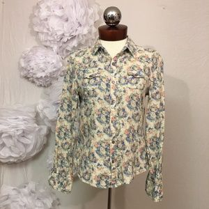 Joe's Jeans Tops - JOES JEANS the shirt floral cotton western S